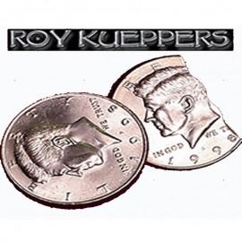 Moneda mordida 1/2 dólar by Kueppers