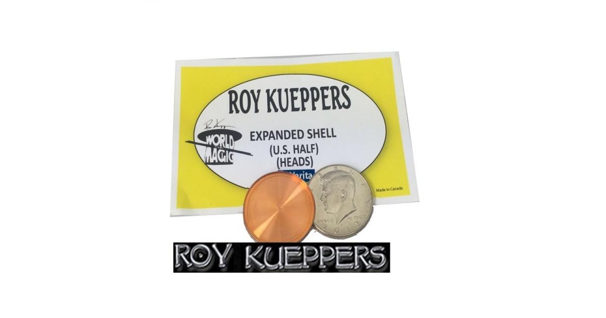 Cascarilla expandida 1/2 dólar -Kueppers