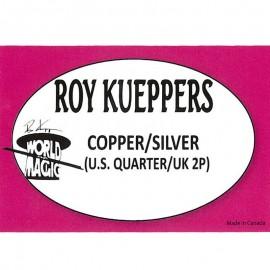 Copper/Silver Cuarto de dólar