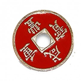 Moneda china roja