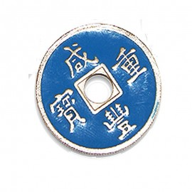 Moneda china azul