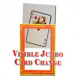 Cambio de carta visible Jumbo