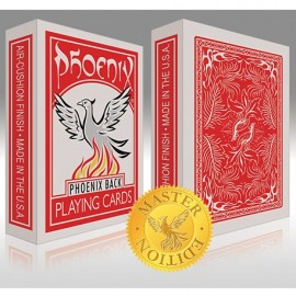 Baraja Phoenix roja- Master Edition
