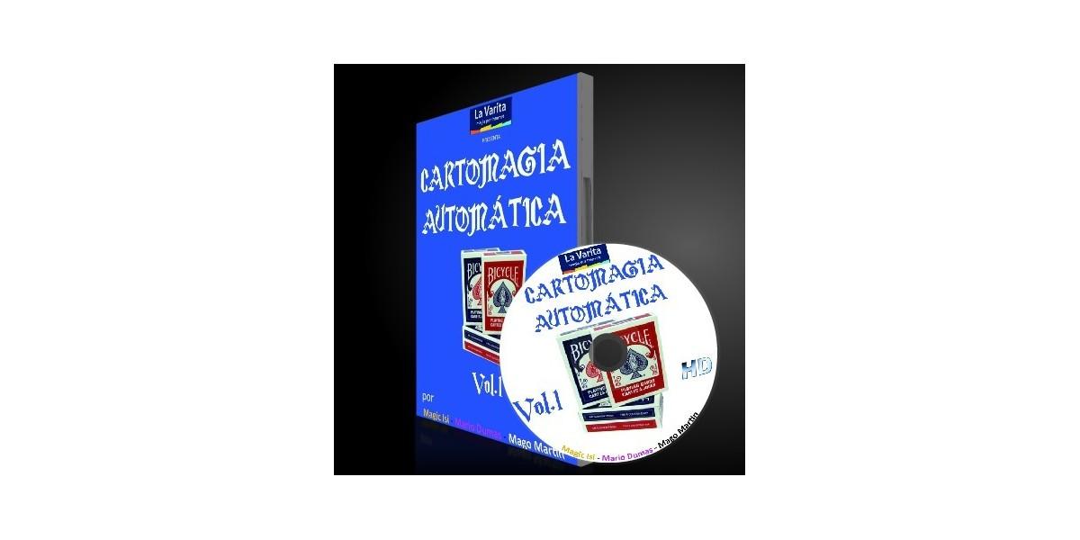 Cartomagia Automatica Vol-1 DVD