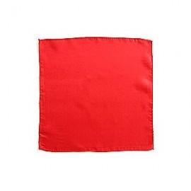 """Pañuelo seda rojo 36"""" (90cm)"""