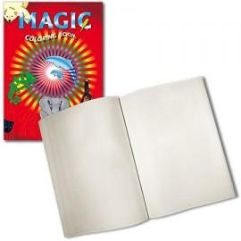 Libro de colorear mágico (blanco)