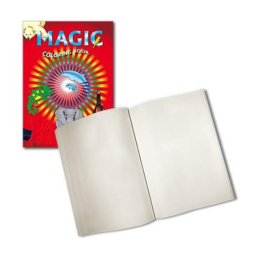 libro colorear magico blanco
