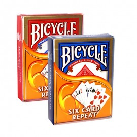 Bicycle - Six card repeat