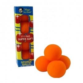bolas esponja naranjas 2