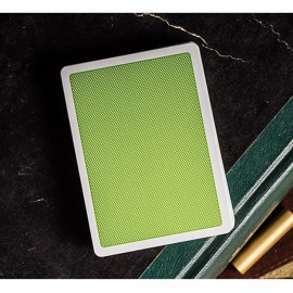 Steel Green Playing Cards