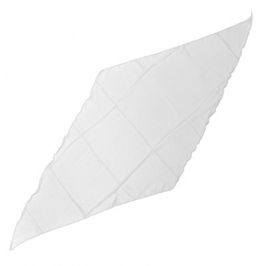Pañuelo diamante blanco 30x30 cm
