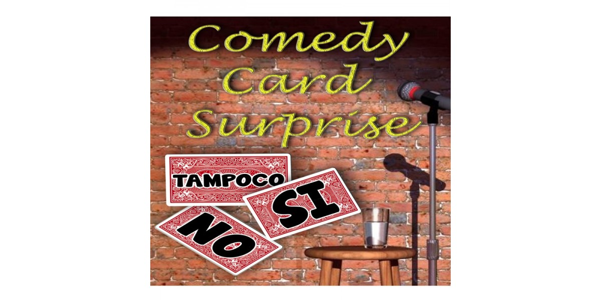 Comedy Card Surprise Escena (EXCLUSIVO)