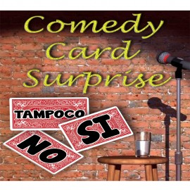 Comedy Card Surprise Escena (EXCLUSIVO)