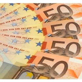 Billetes Falsos 50 euros (10uds)
