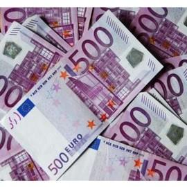 Billetes falsos 500€ (10 uds)