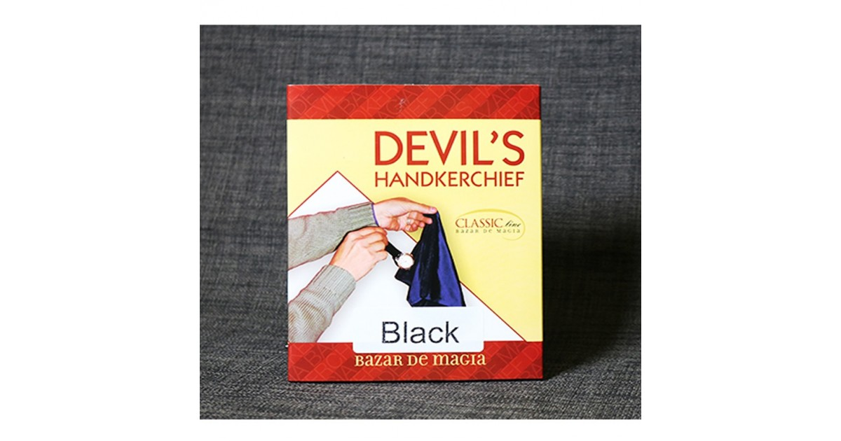 Devil's Handkerchief (Black) by Bazar de Magia