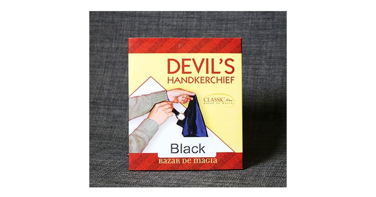 Pañuelo diablo negro by Bazar de magia