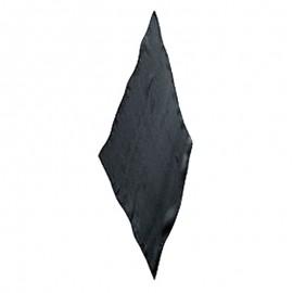 Pañuelo diamante negro 45cm