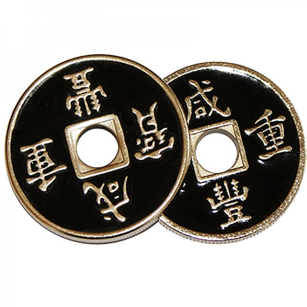 Set moneda china negra + cascarilla