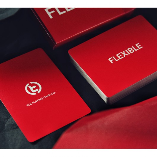 Baraja Flexible roja