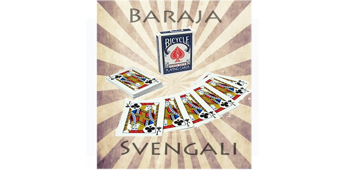 Baraja Svengali Pro Corte Preciso -Top Secret