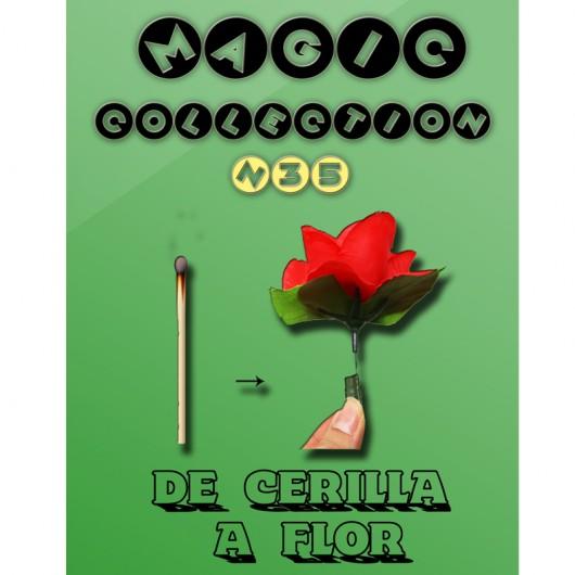 De cerilla a flor