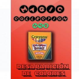 Desaparición de colores