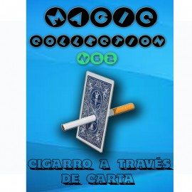 Cigarrillo a través de carta