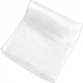 """Pañuelo seda blanco 36"""" (90cm)"""