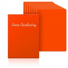 Baraja entrenamiento pure cardistry naranja