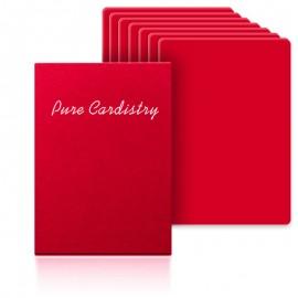 Baraja entrenamiento pure cardistry roja