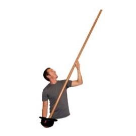 Aparición de palo de 2 metros y medio