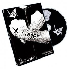 X Finger by Geoff Weber