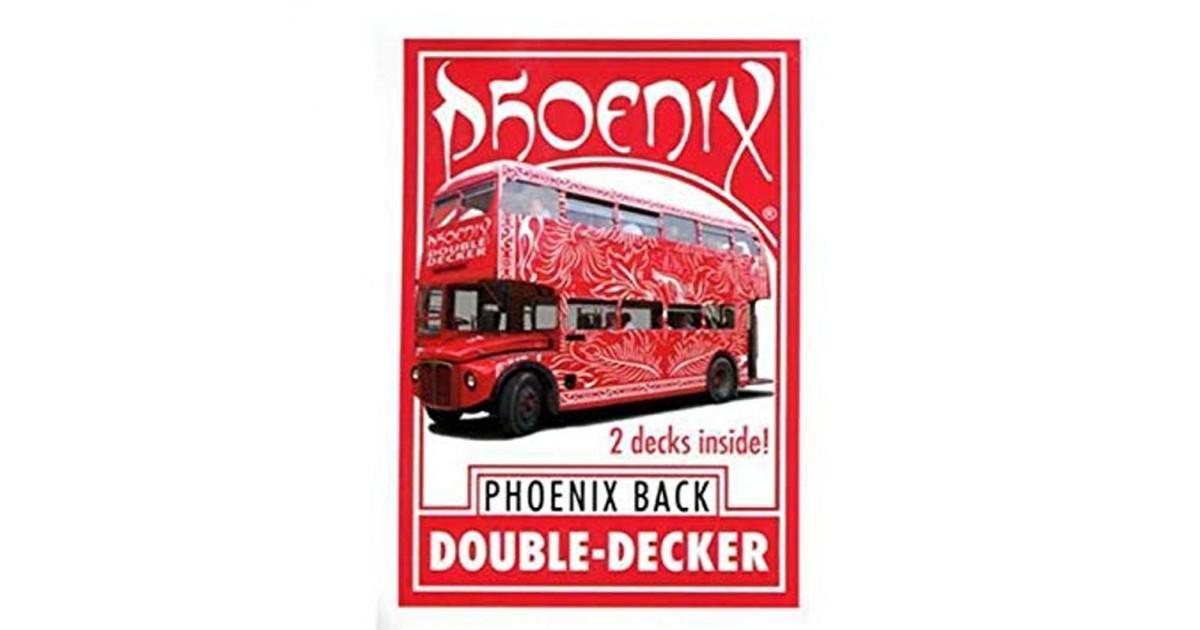 Baraja Phoenix Double decker roja