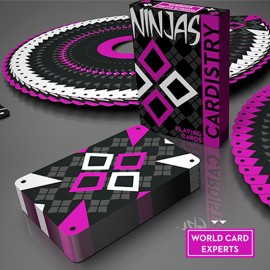 Cardistry Ninja Wildberry by De´vo
