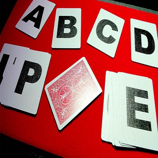 Cartas Bicycle Alphabet