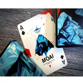 Moai playing Cards