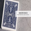 Baraja Maiden Mnemonica azul
