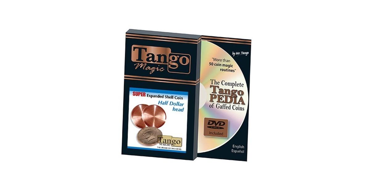 Super Cascarilla Expandida Tango 1/2 dólar