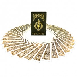 Bicycle MetalLuxe Gold by Jokarte deck