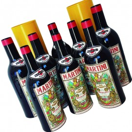 Botellas multiplicación Martini (Set de 8)