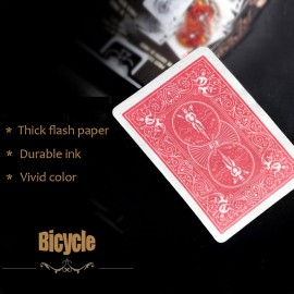 Flash Cards - Bicycle red back