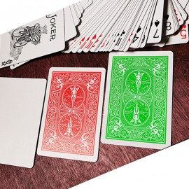 Bicycle Green Playing Card