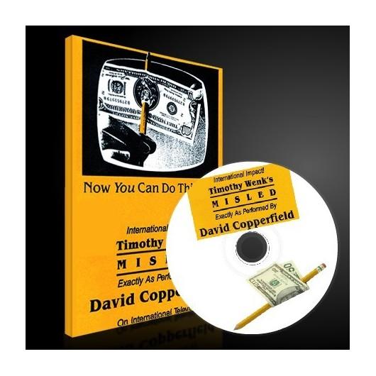 Misled el lapiz de David Copperfield + DVD