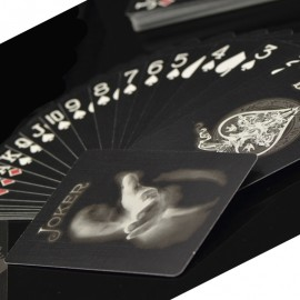 Ghost Black Playing Cards
