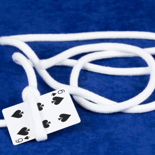 Card on Rope + Video Online by Dario Hueta