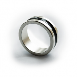 PK Magnetic Ring - Dark line - Large (19 mm)