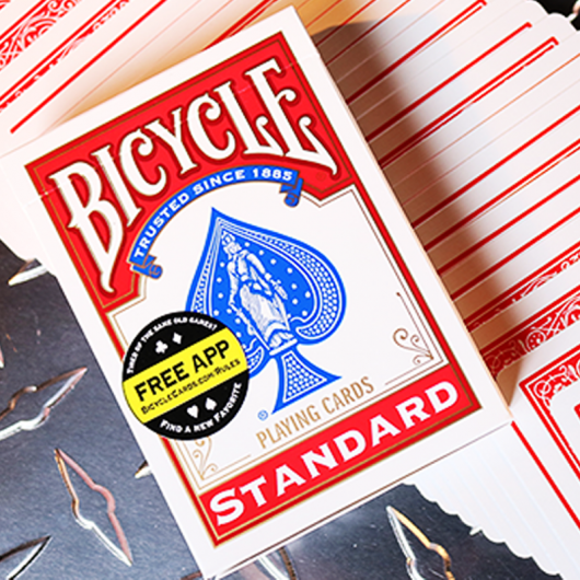Bicycle Standar Pokerd cards