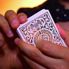 Regalia White Deck by Shin Lim