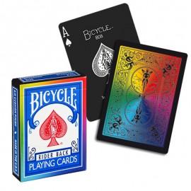 Bicycle Rainbow Black (deck)